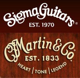 Martin & Sigma Gitarren