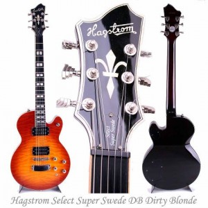 Hagstrom Select Super Swede DB Dirty Blonde