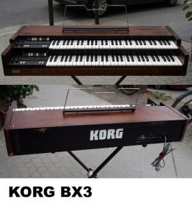 KORG BX3 mit Flightcase